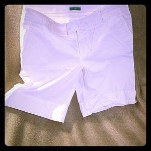 Lilly white bermuda shorts